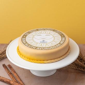 Avurudu Ribbon Brownie Cake (1kg)