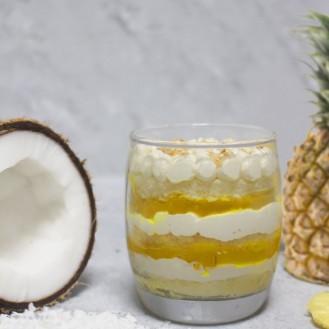 Coconut Pineapple Gateau