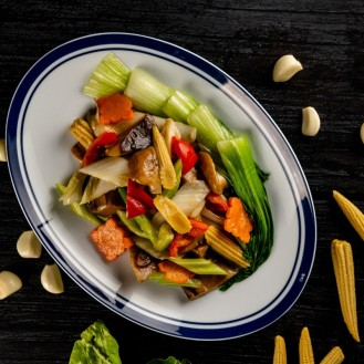 Assorted mixed Chinese Vegetables