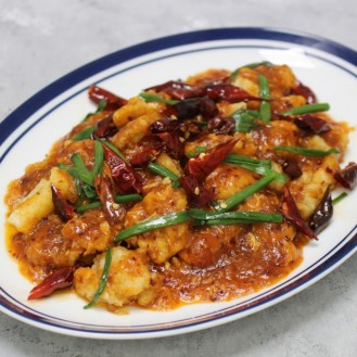 Whole Squid With Singapore Sweet Chili