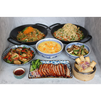 Chinese Cuisine With Pork (Serves 4)
