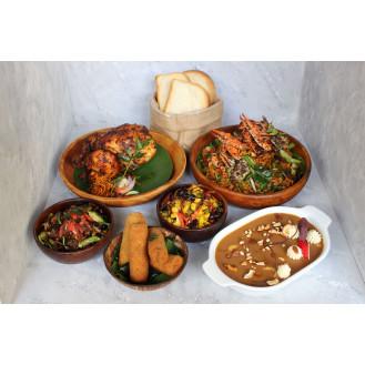 Sri Lankan Cuisine (Serves 4)
