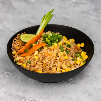 Fried Rice with Chicken & Vegetable