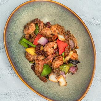 Szechuan Spicy Prawn