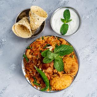 Mughlai Chicken Biriyani