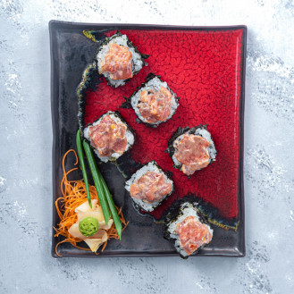 Spicy Tuna Roll (6 pieces)