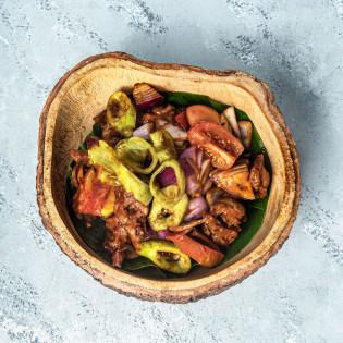 Deviled Pork (With Steamed Rice)