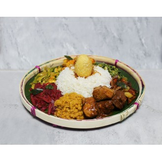 Rasa Mula Rice & Fish Curry