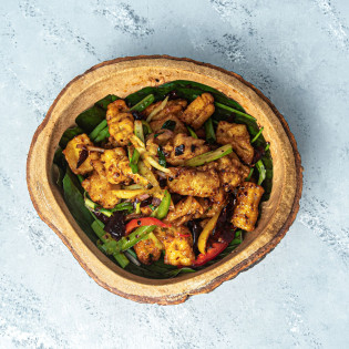 Hot Butter Cuttlefish (With Steamed Rice)