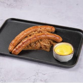 Bratwurst Vom Grill (Grilled Pork or Chicken Sausage)