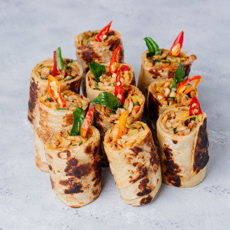 Deviled Pork Roti (10 Pcs)